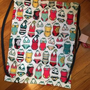 Thirty one backpack with drawstrings
